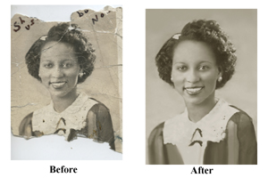 Torn Photo Restoration Pittsburgh